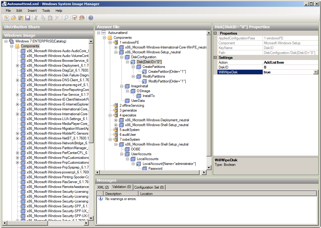 Windows 7: how to use Autounattend.xml and deploy the OS ...