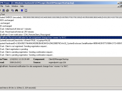 SCCM logs - Trace32.exe