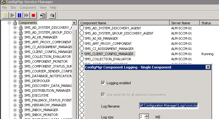 SCCM: Uninstall SCCM 2007 Agent | Networknet nl