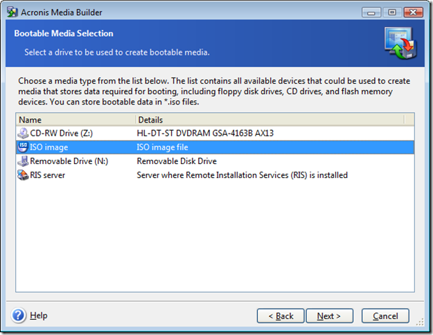 Virtual Disk conversion from tib archive | Networknet nl