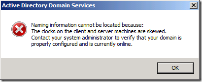 Active Directory: on a virtual domain controller clocks are