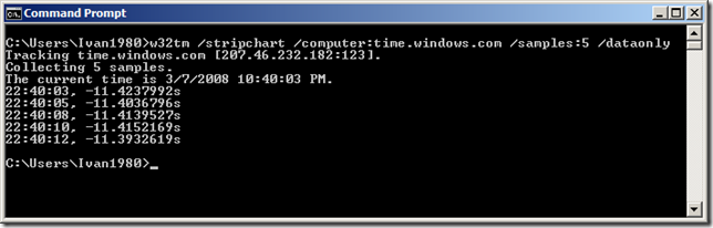 Verify your Windows Time service | Networknet.nl